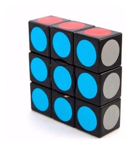 cubo rubik 3x3x1 floppy lanlan puzzle base negra