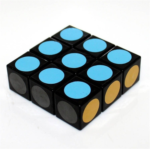 cubo rubik 3x3x1 floppy lanlan puzzle magico original box
