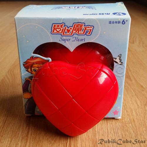 cubo rubik corazon yj moyu 3x3 heart cube ya