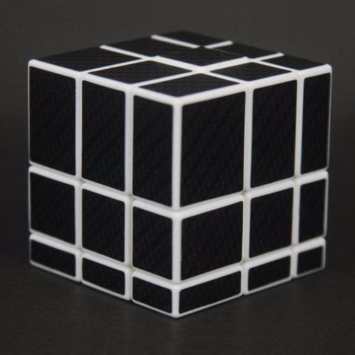 cubo rubik cube style mirror stickers fibra carbono +regalo
