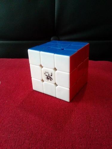 cubo rubik dayan zhanchi 3x3 stickerless - profesional