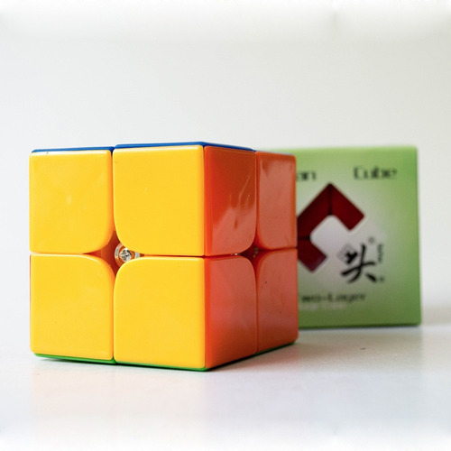 cubo rubik :: dayan zhanchi stickerless - 2 x 2 x 2