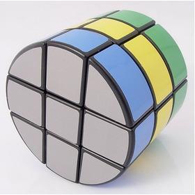 Cubo Rubik Diansheng 3-layer Cylinder Black