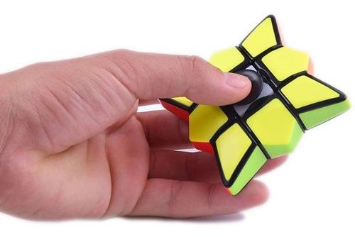 cubo rubik floppy fidget spinner 1x3x3 stickerless