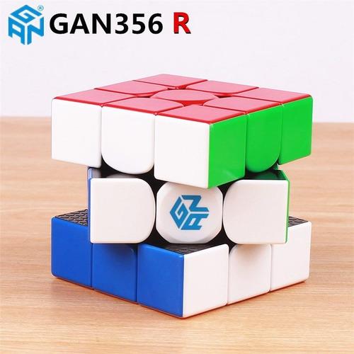cubo rubik gan356r 3x3 speed cubing original + regalo