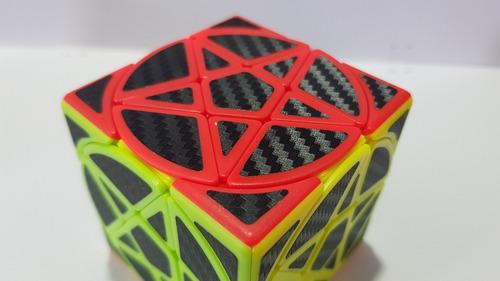 cubo rubik magic cube pentacle pentagrama carbon