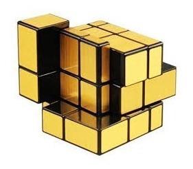 cubo rubik mirror dorado 3x3