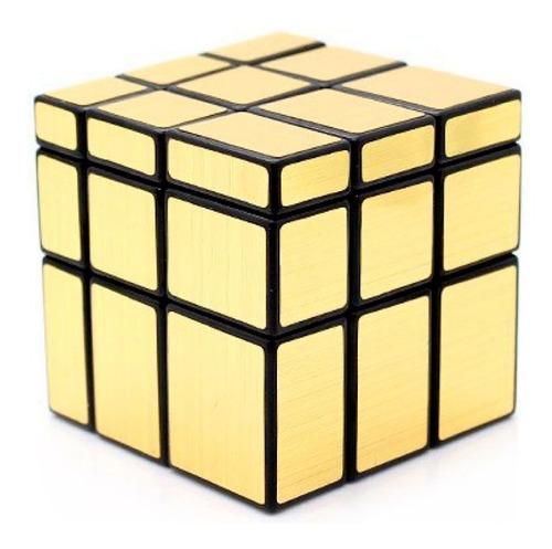 cubo rubik mirror transformers cubo magico dorado relieves