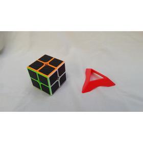 Cubo Rubik Moyu Mofangiaoshi Mf2 Fibra De Carbono + Base