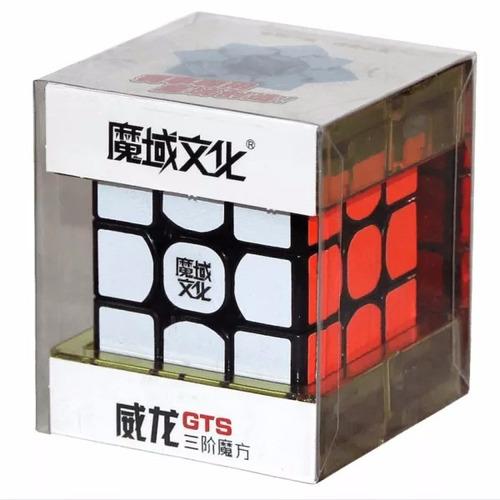 cubo rubik moyu weilong gts 3x3 speed cubing + regalo