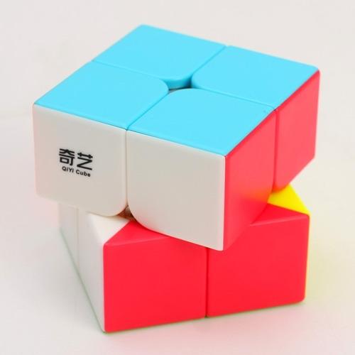 cubo rubik qiyi qidi s stickerless speed 2x2 original