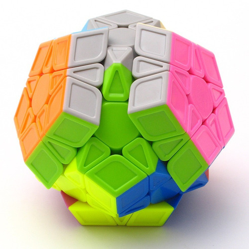 cubo rubik qiyi qiheng s megaminx magic cube stickerless