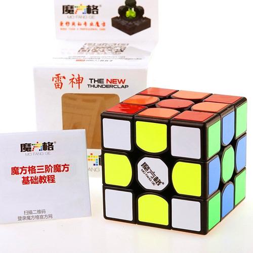 cubo rubik qiyi thunderclap v2 3x3 original speed + estuche