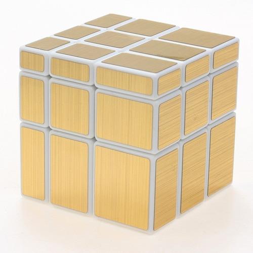 cubo rubik shengshou mirror 3x3 plata o dorado envío gratis