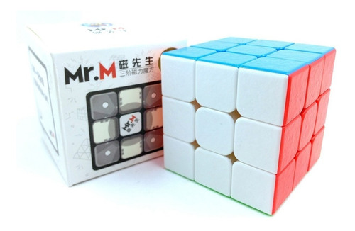 cubo rubik shengshou mr. m magnetico speed 3x3 original