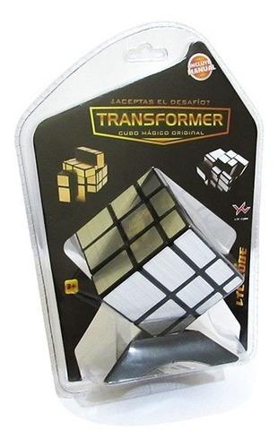 cubo rubik transformers cubo magico mirror plateado espejo