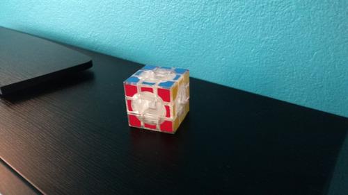 cubo rubik transparente 3x3 sin centros