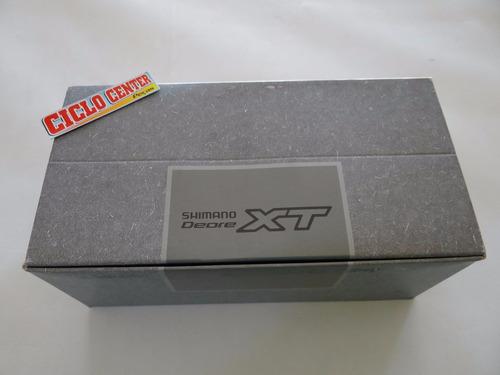 cubo traseiro shimano deore xt m756 leia a descrição