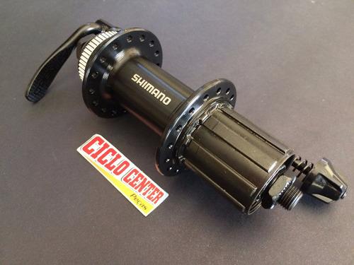 cubo traseiro shimano tx505 center lock 8v 9v 10v 36 furos
