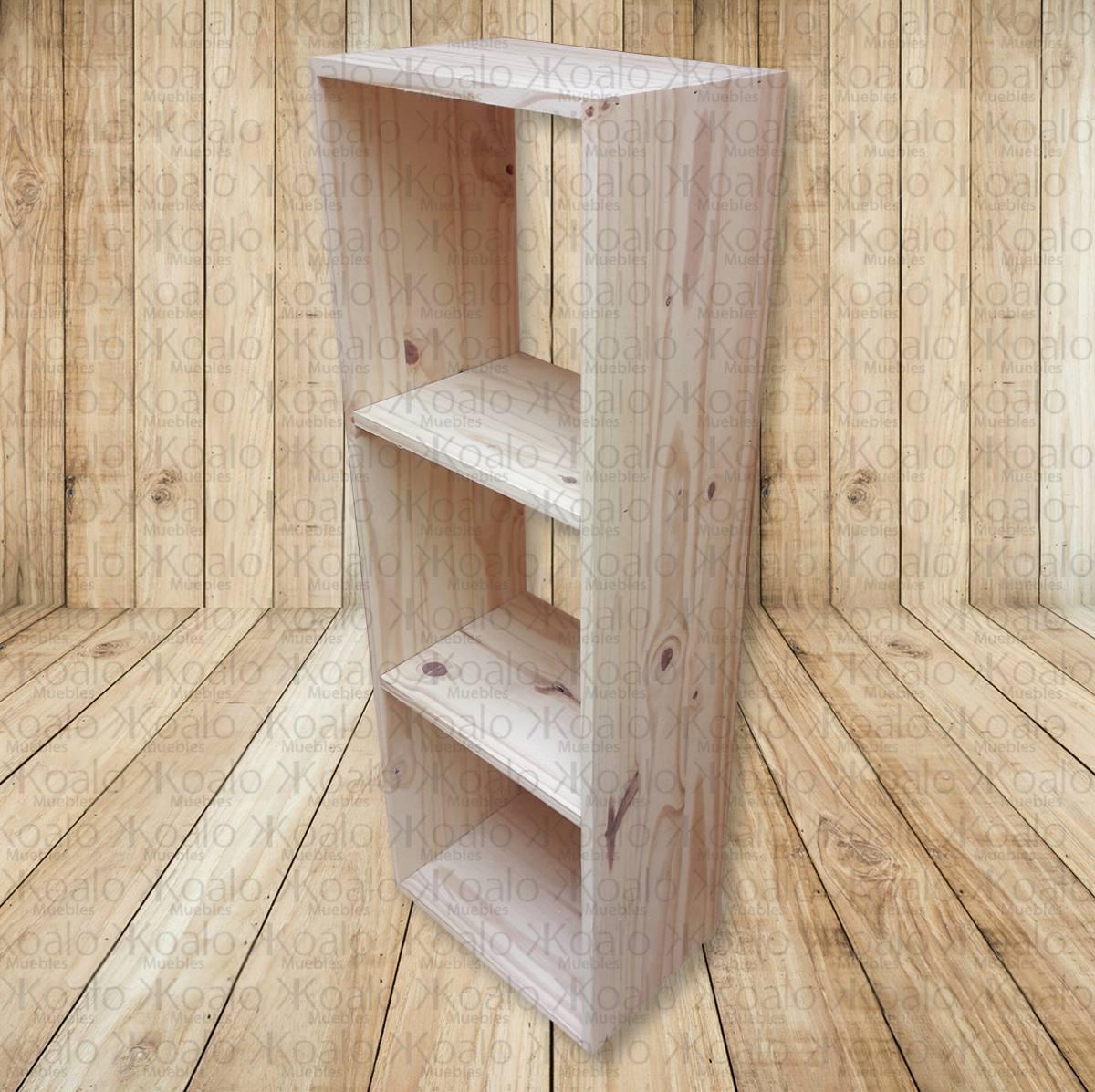 Cubo X3 Fabricado En Pino Para Organizar Koalo Muebles 495  # Organizar Muebles