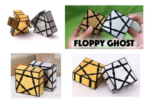 cuboide ghost 3x3x1 oro moyu + obsequio rosario
