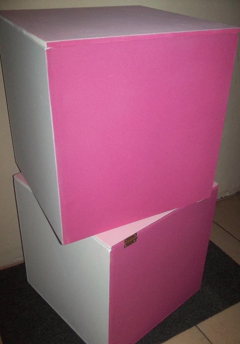 cubos baules mdf color y medidas y tonos
