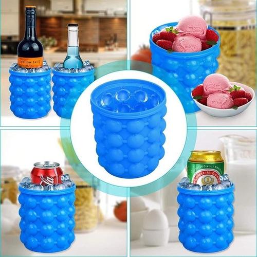 cubos de gelo balde forma silicone 120 gelo 4 em 1 suporte