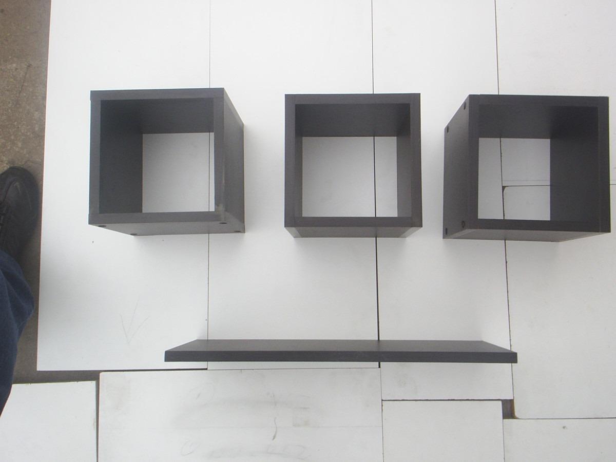 Cubos de melamina decorativos 20x20x20cmt mas repisa plana for Precio de melamina