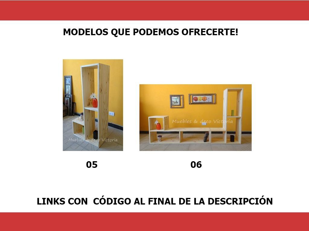 Cubos De Pino Macizo En L Combinables. + De 18 Muebles En 1 ...