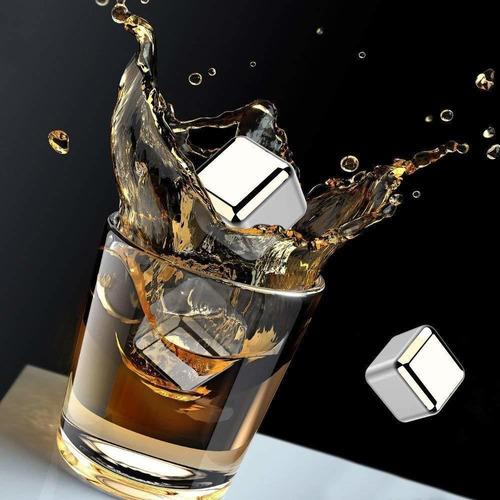 cubos enfriadores de bebida de acero inoxidable 8 unidades