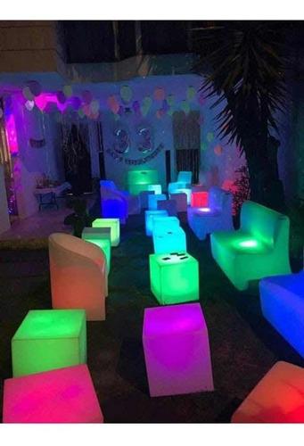 cubos iluminados 25x25