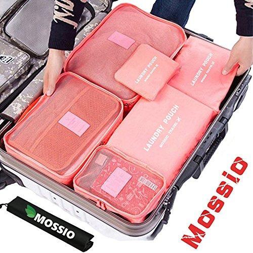 cubos para equipaje, mossio 7 set mochila ropa de camping co