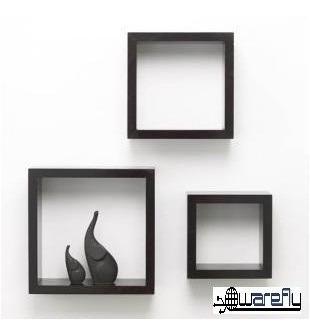 cubos repisas minimalista juego 3pzas modernas sala hogar
