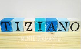 6327b354e090 Cubos Vintage De Madera Letras Nombres X 7u Deco Candy Hogar
