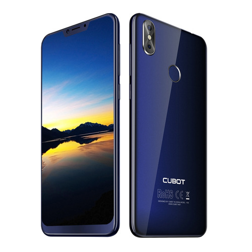 cubot p20 4g phablet 6.18 pulgada android 8.0