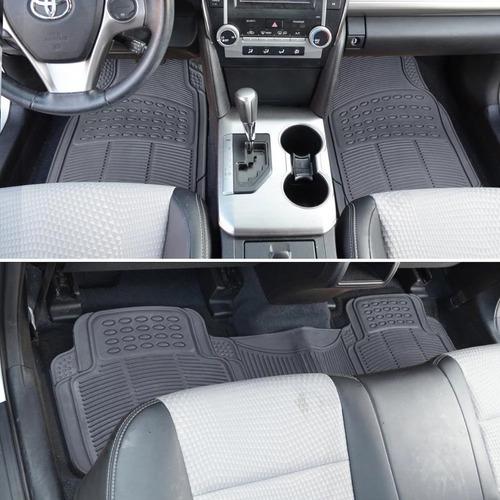 cubre alfombra pesada universal 3 piezas auto camioneta 4x4