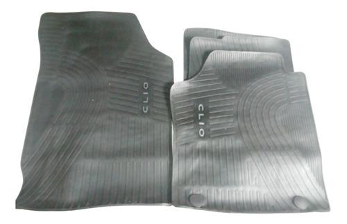 cubre alfombra renault clio 2 clio mio  4 piezas  original
