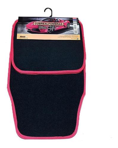 cubre alfombras set 4 piezas afelpado para auto universal