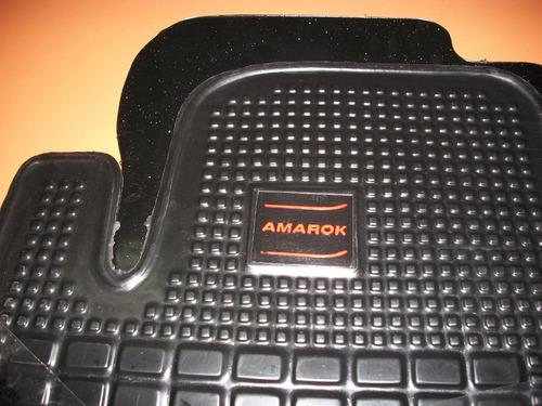 cubre alfombras v.w. amarok doble cabina en marca vapren