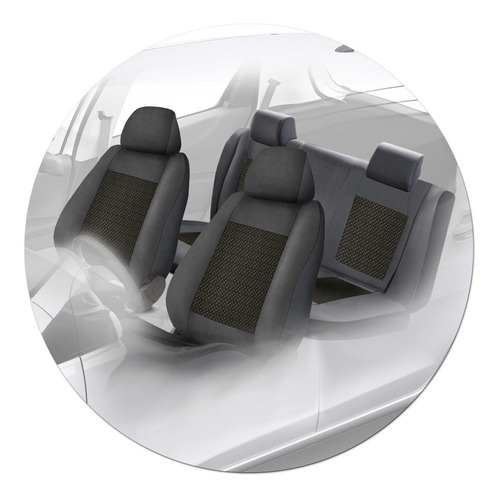cubre asiento asientos carrhel con asiento trasero bipartito
