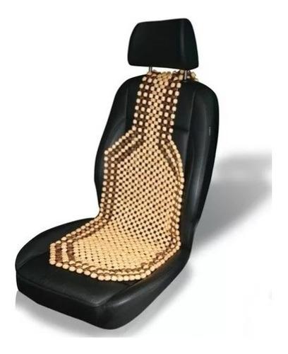 cubre asiento bolita universal efecto masajeador relajante