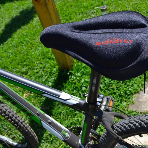 cubre asiento gel ciclismo bicicleta mountain bike mvdsport