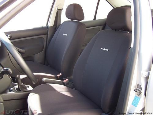 cubre asientos ford figo sedan 2016 2017 2018 4 cabeceras