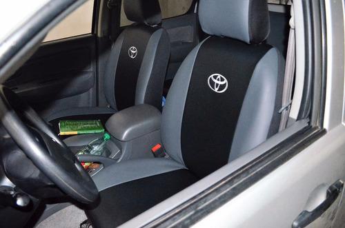 cubre asientos /fundas hilux alta gama