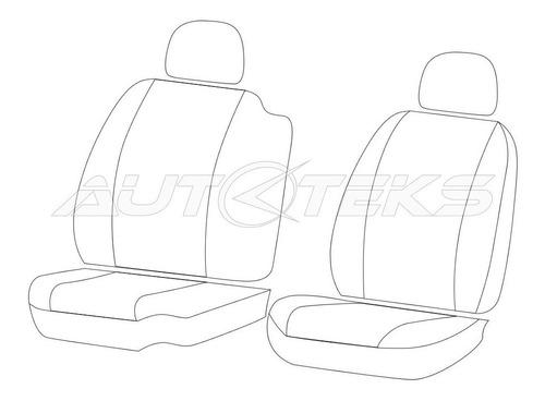 cubre asientos np300 cabina sencilla estaquitas 2016 2019