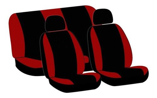 cubre asientos tiida sedan custom 2007-2017 2 cabeceras