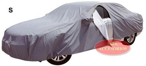 cubre auto coche impermeable doble capa afelpado pesado xl
