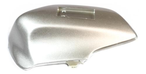 cubre barral izquierdo gris blitz tunning 125 original - um