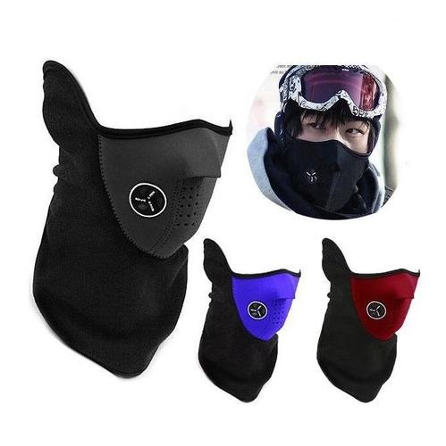 cubre boca neopreno pasamontañas para motociclismo frio