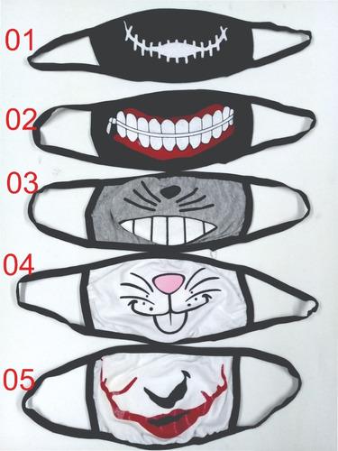 cubre bocas kawaii